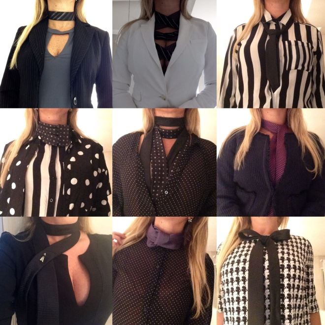 Gravatas femininas, tendências, trend, Scarf tie